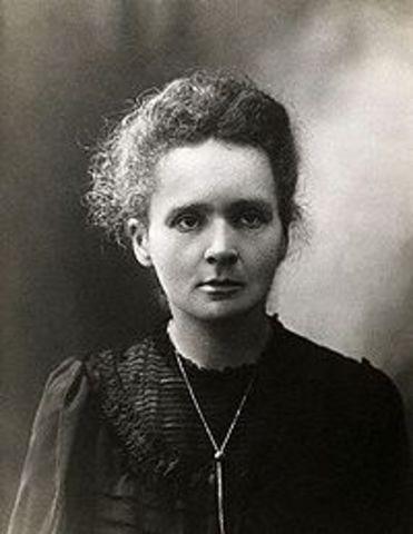 Marie Skłodowska-Curie-Radioactivity