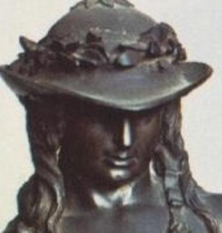 """Donatello creates his """"David"""" statue"""