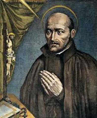 Ignatius of Loyala founds the Jesit order