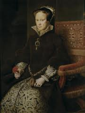 mary I becomes queen