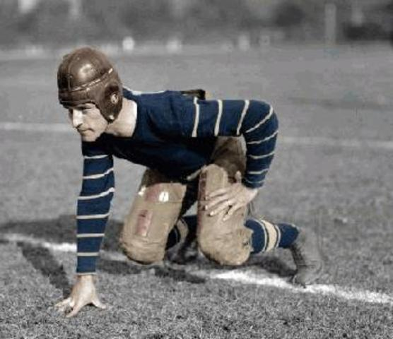 Birthdate of Football