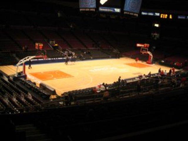 First Basket ball game