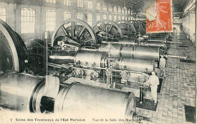 Début deuxième phase d'industrialisation