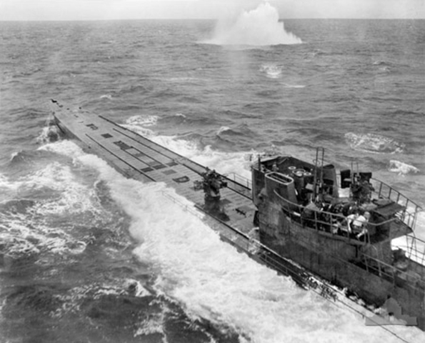 US enters the Battle of the Atlantic