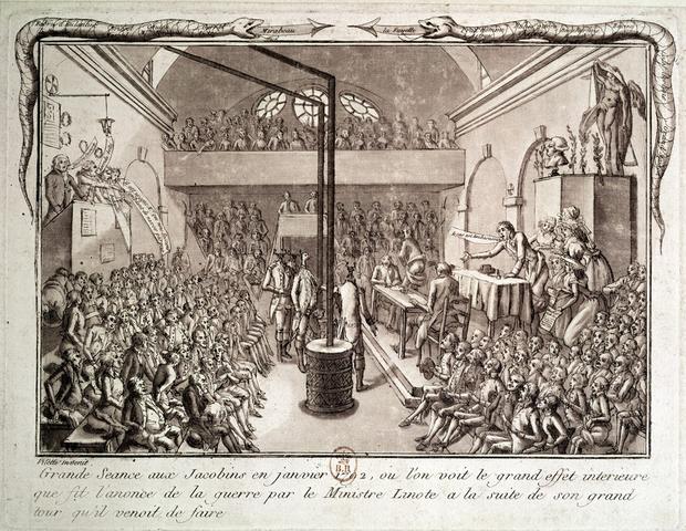 Jacobins disband