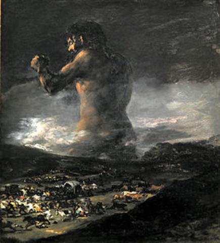 ''El Coloso'' Goya