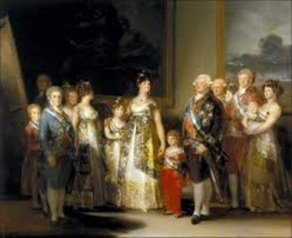 Charles IV's Family Painting by Goya