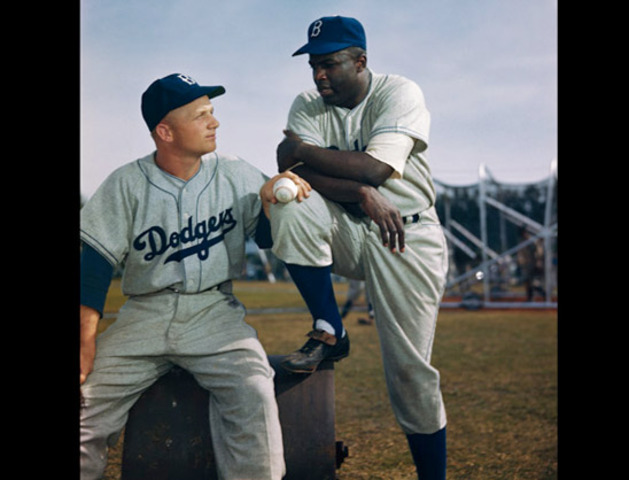 Jackie Robinson's Final Game.