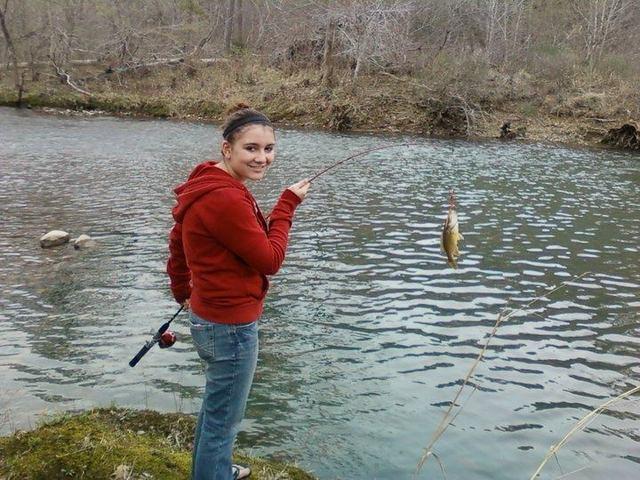 Yo fui pesca en Arkansas