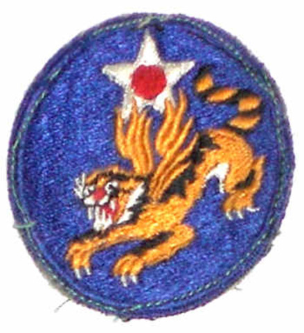 """Flying Tigers: """"The Story of the Fourteenth Air Force"""" 1945 US Army Air Forces in China World War II"""