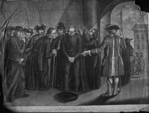 The expulsion of the Jesuits from Spain
