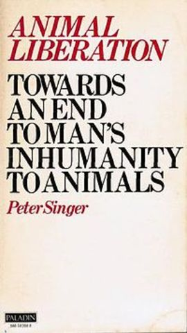 """""""Animal Liberation"""" by Peter Singer was published"""