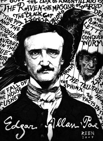 The birth of Edgar Allan Poe
