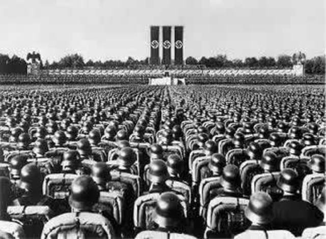 Hitler's military build-up in Germany