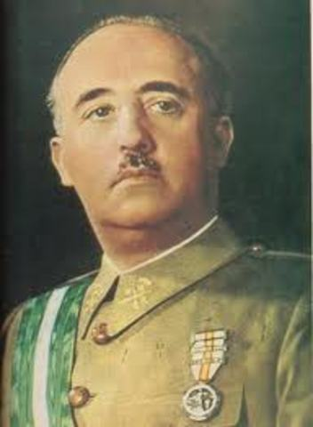 Francisco Franco comes to power in Spain.