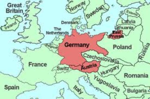 Hitler's Anschluss to Austria
