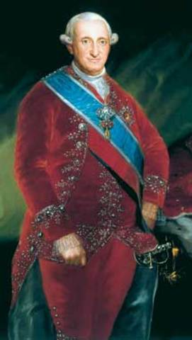 Goya was the painter of Charles III