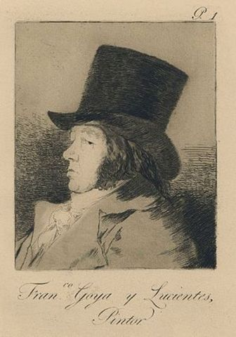 """""""Los caprichos"""" of Goya"""