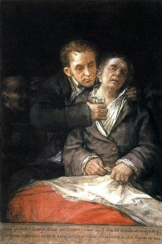 Goya got deaf
