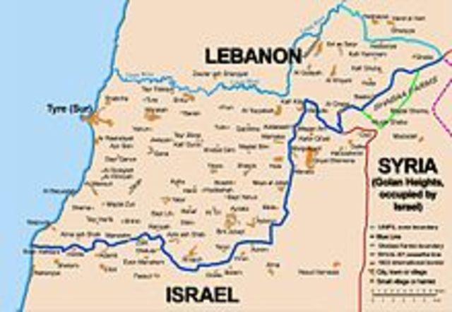 Israeli Invasion of Lebanon