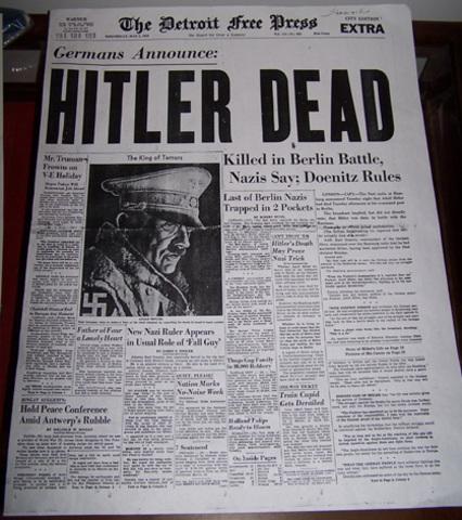 Death of Hitler