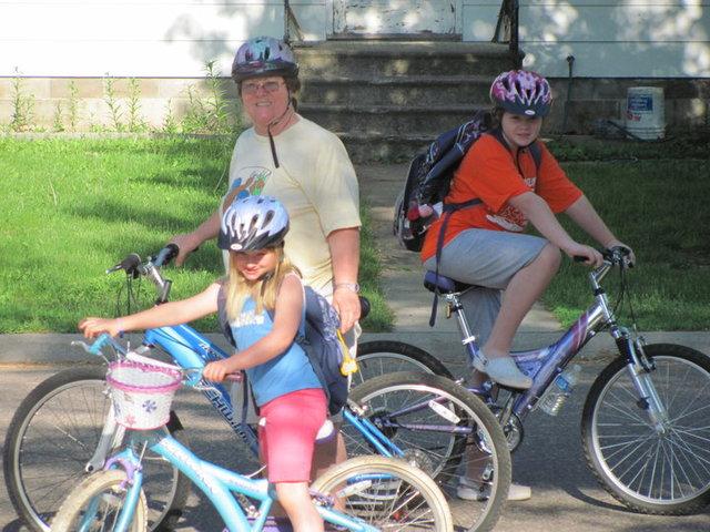 Yo aprendí a montar en bicicleta