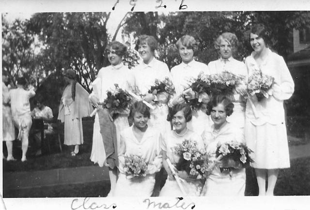 Graduation photo from 1926