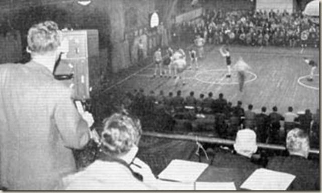 First Basketball Game On Tv