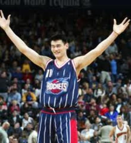 Yao Ming First Drafted Person Not from the U.S.- great player