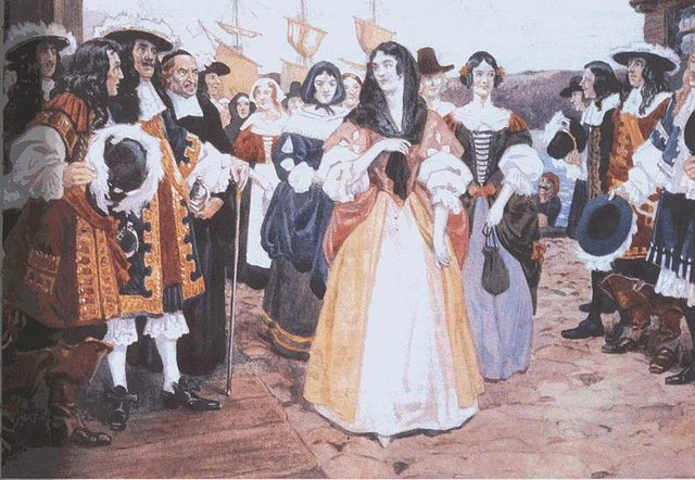 Jean Talon's decree to increase the population of New France