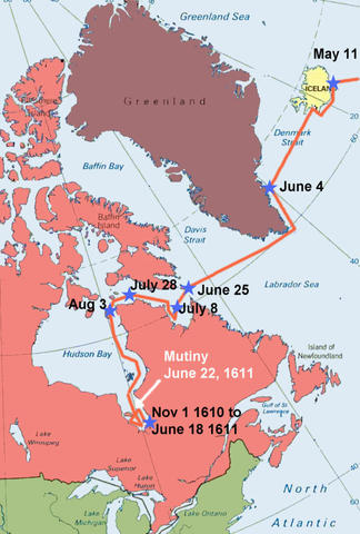 Henry Hudson's 4th Voyage
