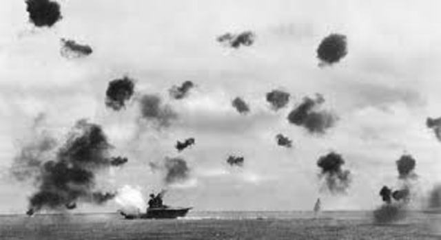 Coral Sea (War in the Pacific)
