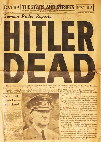 Hitler's Suicide (War in Europe)