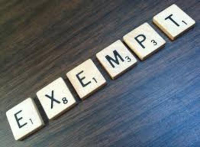 Antitrust Exemption