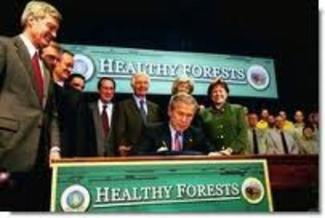Healthy forest initiative