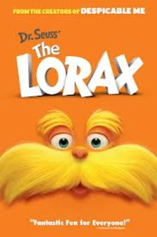 """Dr. Seuss """" The Lorax"""" the movie"""