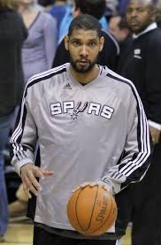 Spurs love Timmy