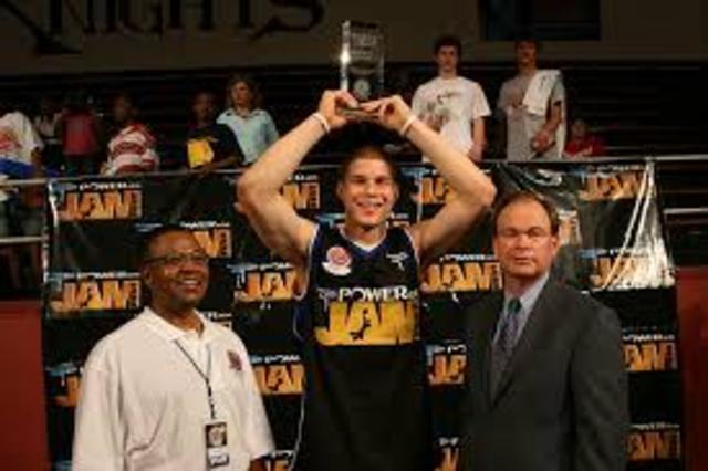 Slam Dunk Contest winner
