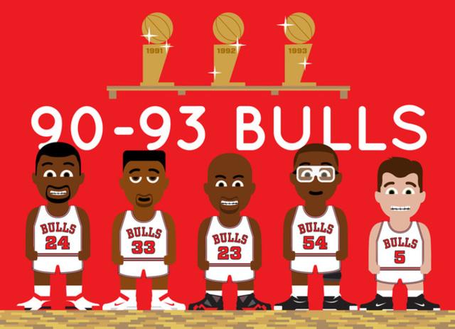 Bulls 3 peat