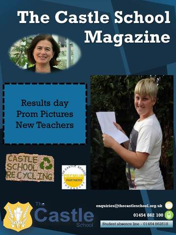 School Magazine Finished Front Cover