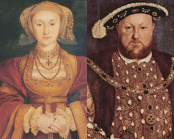 King Henry VIII divorces Anne of Cleves