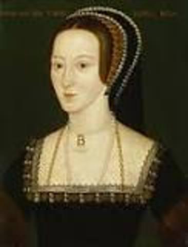 Birth of Ann Boleyn