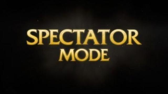 Spectator Mode Released