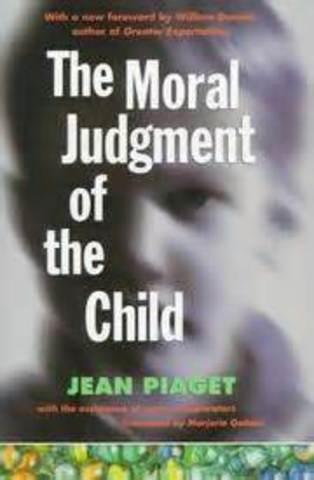 Jean Piaget published 'The Moral Judgement of Children'