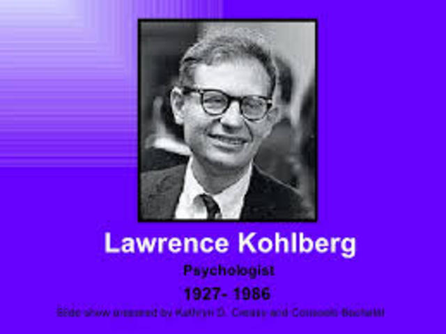 Lawrence Kolberg introduced his ideas for the sequencing of morality development.