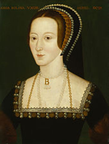 Anne Bolyn married King Henry VIII