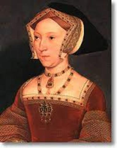 Jane Seymour and Henry VIII got married