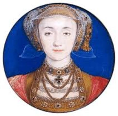 Death of Anne of Cleves
