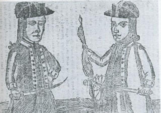 Shay's Rebellion 1787
