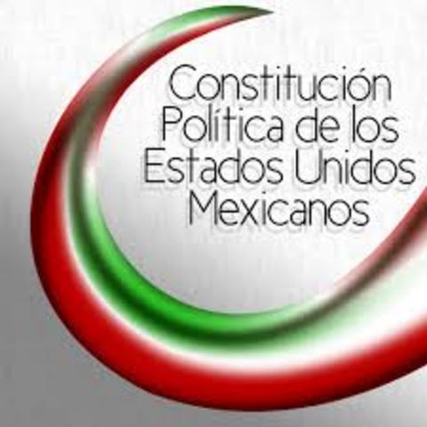 CONSTITUCION MEXICANA CONSAGRO LEY